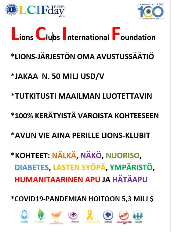 LCIF ja LCIF-päivä